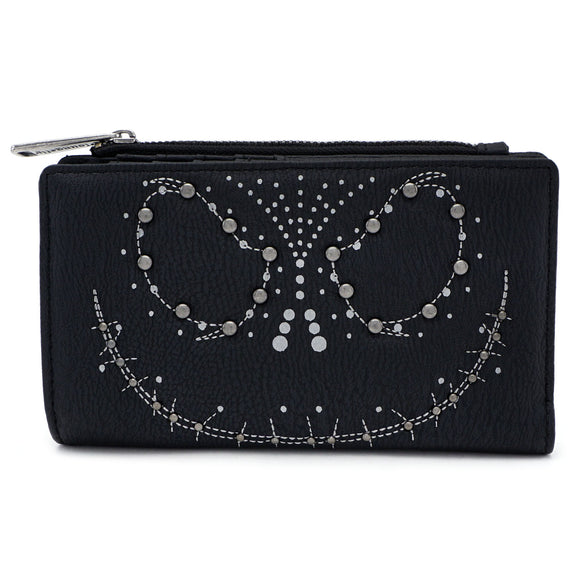 Loungefly The Nightmare Before Christmas Jack Studded Wallet