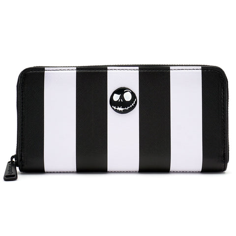 Loungefly The Nightmare Before Christmas Striped Wallet
