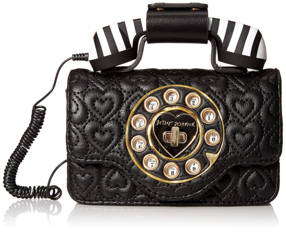 Betsey Johnson Pocket Dial Phone Belt Bag