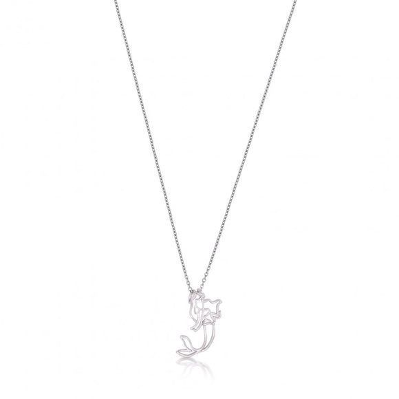 Disney by Couture Kingdom Little Mermaid Ariel Outline Necklace