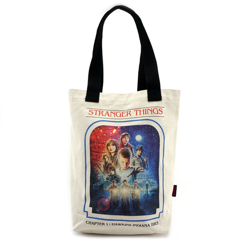 Loungefly Stranger Things Chapter 1 Canvas Tote Bag