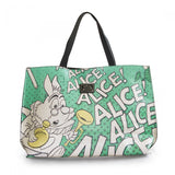 Loungefly Alice in Wonderland and Queen of Hearts Tote Bag