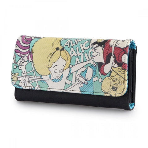 Loungefly Alice in Wonderland and Queen Of Hearts Wallet