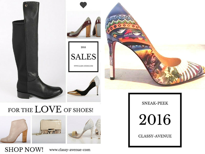 Sneak Peek Spring Shoe Collection 2016, Valentine's Exclusive Promotions + Cocktail Recipe