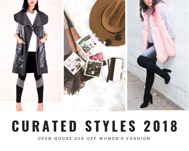 One Year Anniversary Open House: 20% OFF Women's Fashion