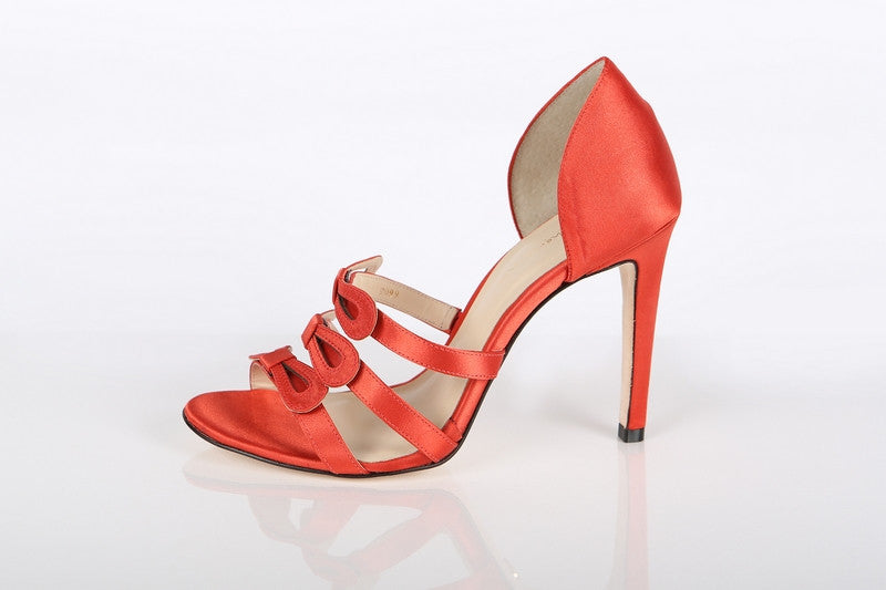 Women's Cinderella Heels Red - Color Red - by Guilhermina