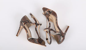 Women's Cobra Heels - Color Animal - by Guilhermina
