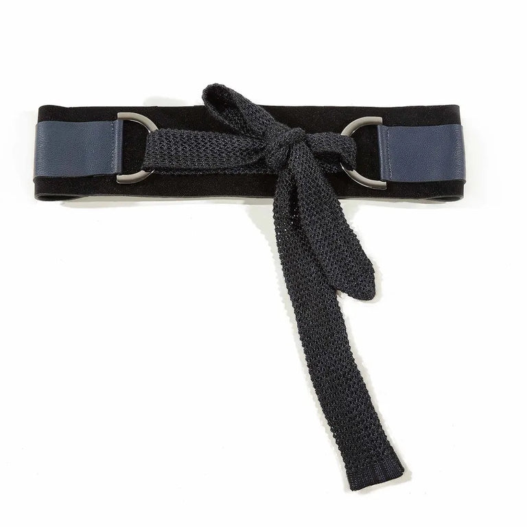Rosa Wide Leather Belt