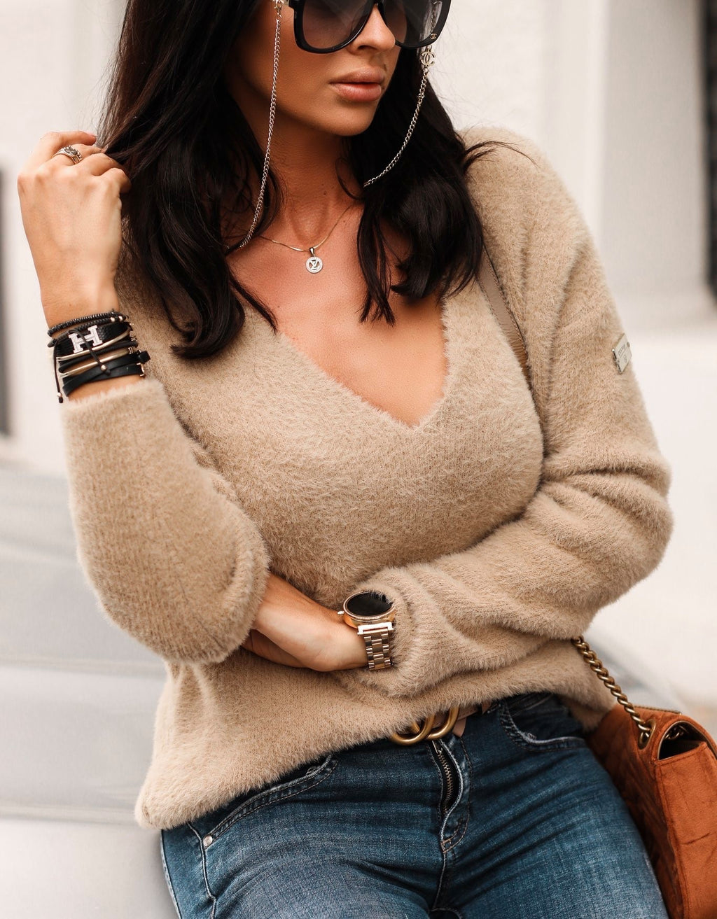 Lili Beige Sweater
