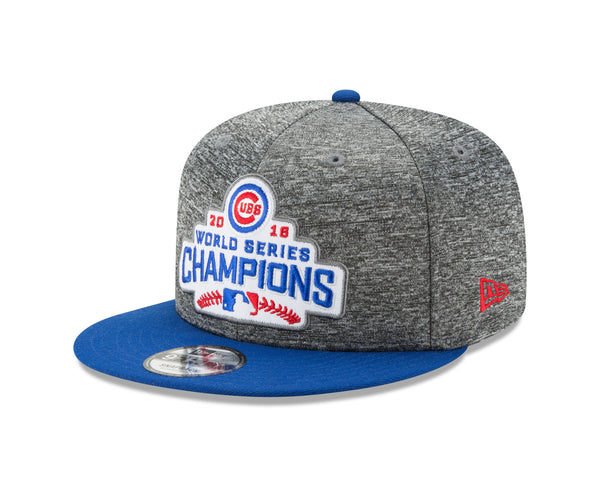 Chicago Cubs New Era 9FIFTY Snapback 2016 World Series Champions Adjustable Cap