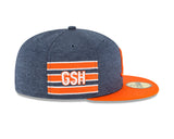 Chicago Bears New Era 59FIFTY Fitted Sideline Home 2018 Flatbrim Hat