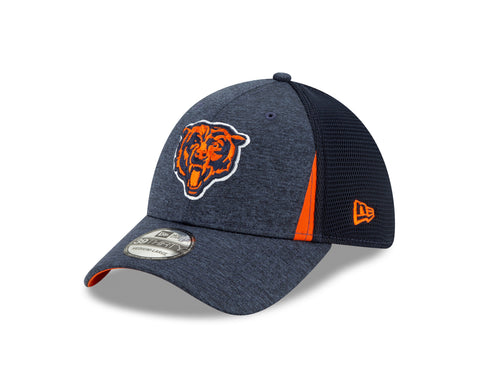 Chicago Bears New Era 39THIRTY Slice Team Headwear Fitted Hat