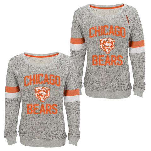 "Youth Chicago Bears ""My City"" T-Shirt Long Sleeve Football Tee"