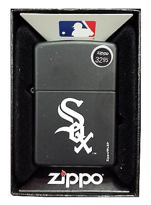 Chicago White Sox Zippo Lighter MLB Official Season Z913 - H14 Matte Black