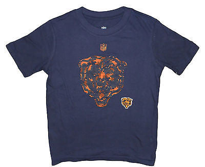 Youth Chicago Bears Hyper Logo Team T-Shirt NFL Licensed Pride Tee