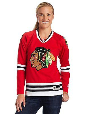 Women's Chicago Blackhawks Premier Stitched Jersey NHL Reebok