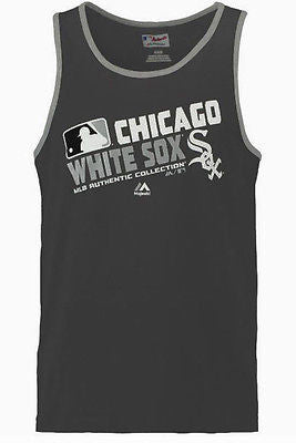 Girls Youth Chicago White Sox MLB Authentic Collection Tank Top Majestic Shirt