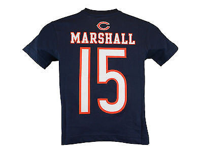 Toddler Kids Youth Chicago Bears #15 Brandon Marshall T-Shirt NFL Official Tee