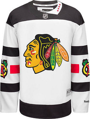 Youth Chicago Blackhawks 2016 Stadium Series Premier Jersey Stitched NHL Reebok