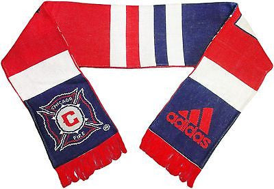 Chicago Fire Coaches Scarf Team Pride Adidas Officially Licensed
