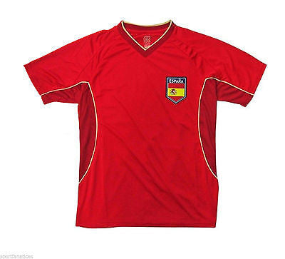Espana Spain 2014 World Cup Soccer Futbol Jersey Team Pride Rhinox Official