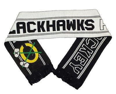 Chicago Blackhawks  Team Scarf Reebok NHL Officially Licensed