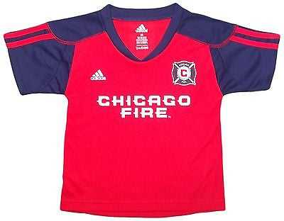 Infant Toddler Youth Chicago Fire Home Call Up Jersey T-Shirt MLS Official Tee