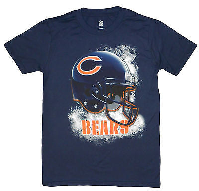 Youth Chicago Bears Smokey Helmet T-Shirt NFL Team Pride Officially Licensed Tee