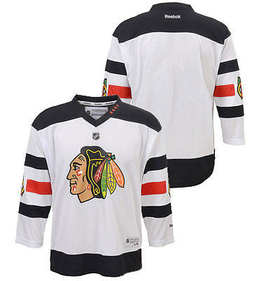 sports shoes 5f777 23b0b Youth Chicago Blackhawks 2016 Stadium Series Replica Jersey NHL Reebok  Official