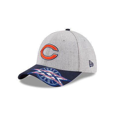 fb53d429e6087e Chicago Bears Super Bowl XX New Era 39THIRTY NFL Official Cap Fitted Hat