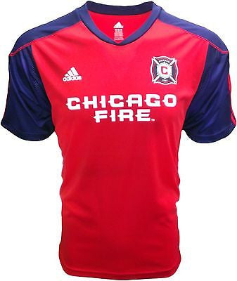 Youth Chicago Fire 2015 Home Call Up Replica Jersey Adidas MLS Official