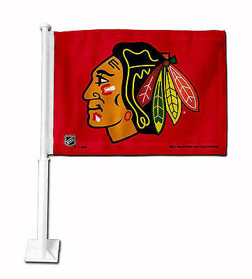 Chicago Blackhawks Car Flag NHL Team Pride Officially Licensed Truck Banner