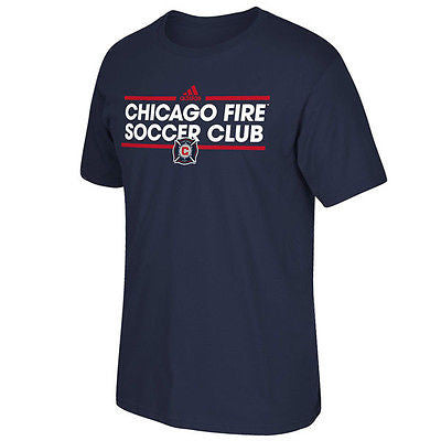 Youth Chicago Fire Soccer Club Dassler T-Shirt MLS Officially Licensed Tee
