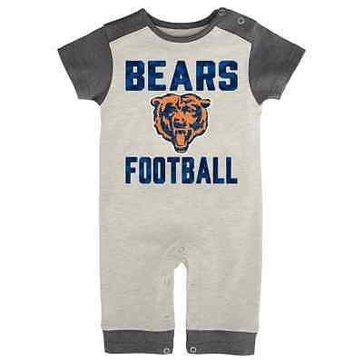 "Infant Chicago Bears Football ""Tradition"" Bodysuit NFL Official Creeper Onesie"