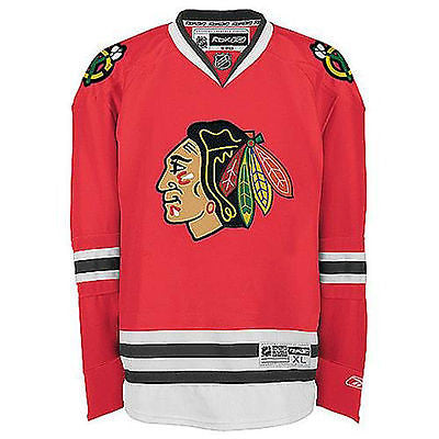 Chicago Blackhawks Premier Stitched Jersey Reebok NHL Team Officially Licensed
