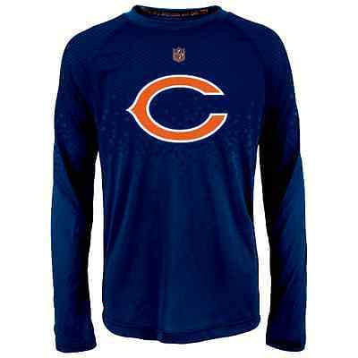 "Youth Chicago Bears ""Tactical Assault"" Dri-Tek Long Sleeve T-Shirt NFL Tee"