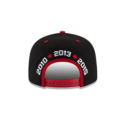 Chicago Blackhawks New Era 9FIFTY Stanely Cup Dynasty Snapback NHL Official Hat