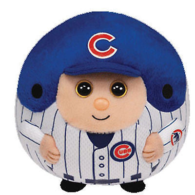 Chicago Cubs Beanie Ballz Stuffed Plush Toy Gift Licensed - 4 Inches