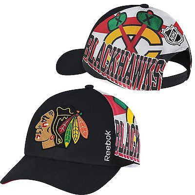 Youth Chicago Blackhawks 2015 Playoff Hat Reebok Center Ice NHL Official Cap