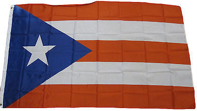 Puerto Rico 3' x 5' Flag Country Puerto Rican National Pride