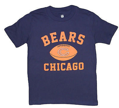 Youth Chicago Bears Football Logo T-Shirt NFL Team Pride Officially Licensed Tee