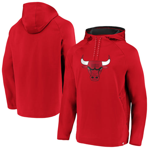 Chicago Bulls Fanatics Branded Classic Team Hoodie - Red