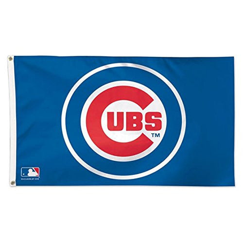 Chicago Cubs MLB WinCraft Deluxe 3' x 5' Flag
