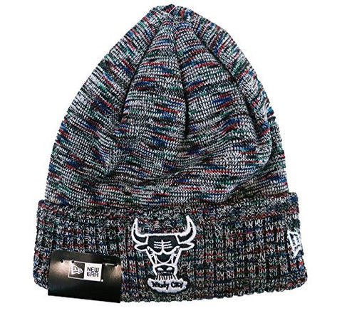 New Era NBA Chicago Bulls Team Craze Knit Men's Beanie in Multi Color
