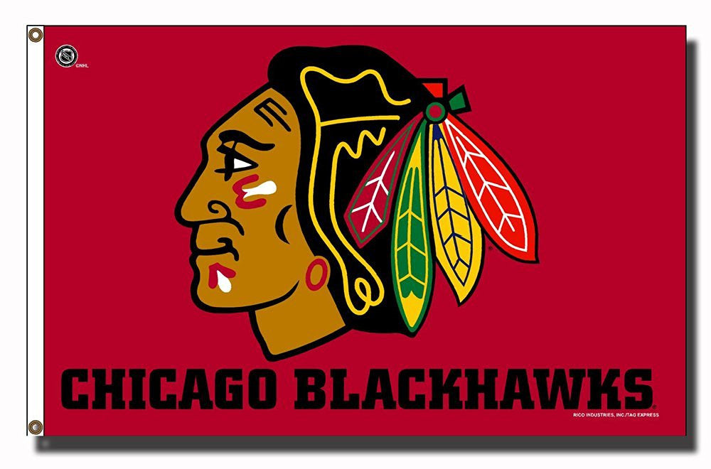 NHL Chicago Blackhawks 3 X 5 Flag