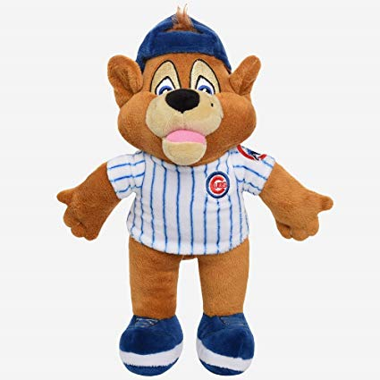 Chicago Cubs Clack Cub Plush Bear
