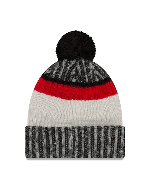Chicago Bulls NBA New Era Sport Knit Beanie with Pom