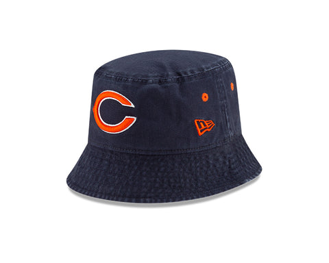Chicago Bears New Era Classic Bucket Hat - Navy