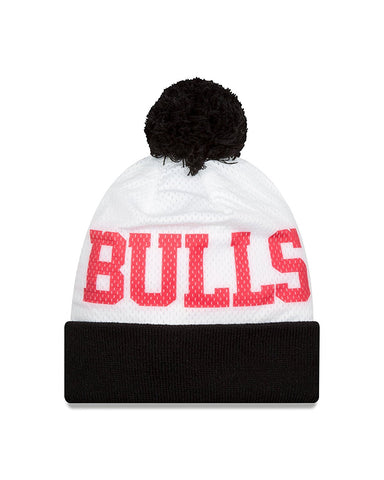 NBA Chicago Bulls Hwc Mesh Layer Knit Beanie, One Size, Black