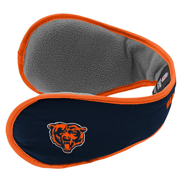 Chicago Bears NFL Youth Boys Winter Ear Muffs-Deep Obsidian -1 Size